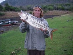 Tiger Fishing in South Africa - Jozini Dam KZN